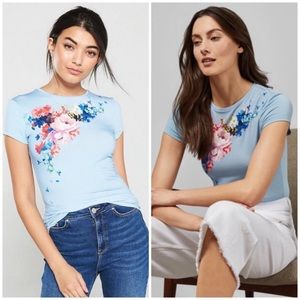 CURRENT Ted Baker Banzra floral tee